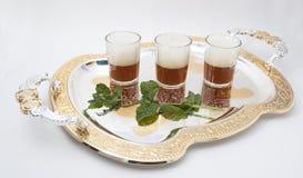 Tee mit Pfefferminz Lizenzfreies Stockbild