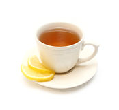 Tee mit Zitrone Lizenzfreies Stockfoto
