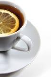 Tee mit Zitrone Stockfoto