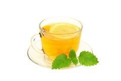 Tee mit Zitrone Stockbilder