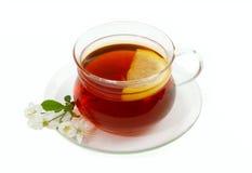 Tee mit Zitrone Lizenzfreie Stockbilder