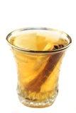 Tee mit Zitrone und Zimt Stockbild
