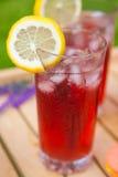 Tee mit Zitrusfruchtlavendel Lizenzfreie Stockfotos