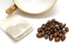 Tee oder Kaffee? Lizenzfreies Stockfoto