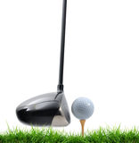 Tee Off Royalty Free Stock Photos
