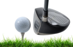 Tee off Stock Image