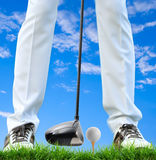 Tee off Royalty Free Stock Images