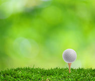 Tee Off Royalty Free Stock Photography