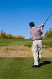 Tee Off Stock Photography