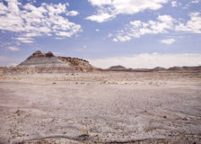 Tee-Pee Hills Petrified Forest National Park Royalty Free Stock Photography