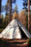 Tee-pee indien indigène classique Image stock