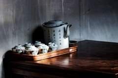 Tee-Sachen Stockfotos