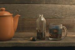 Tee-Satz stockfotos