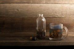 Tee-Satz stockfoto
