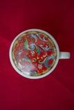 Tee-Schale für chinesischen grünen Tee des Gebräus lizenzfreie stockfotos