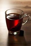 Tee, Schwarzes, klassisch stockfoto
