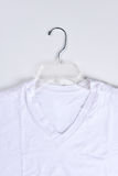 Tee Shirt on Hanger Royalty Free Stock Photo