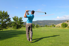 Tee shot Royalty Free Stock Photography