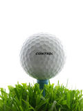 Tee Shot Stock Photo