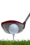 Tee shot driver Royalty Free Stock Photography
