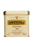 Tee Twinings Earl Grey lokalisiert Lizenzfreie Stockfotografie