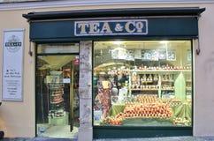 Tee u. Co, Salzburg Stockbilder