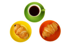 Tee und Hauche Lizenzfreies Stockfoto