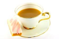 Tee und Kuchen Stockfotos