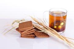 Tee und Plätzchen Stockbilder