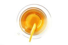 Tee und Zitrone Stockbild