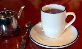 Tee-Zeit Stockfoto
