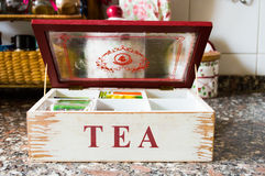 Tee-Zeit Stockbilder