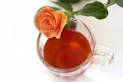 Tee-Zeit Lizenzfreie Stockfotografie