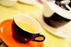 Tee-Zeit Stockfotografie