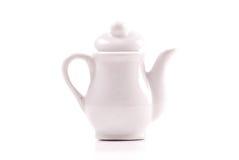 Tee-Zeit-Kessel Lizenzfreie Stockfotos