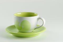 Teecup mit Griff. Lizenzfreie Stockfotos