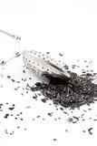 Teeei auf weißem Hintergrund Lizenzfreie Stockfotografie