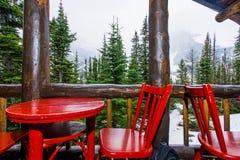 Teehaus in der Wildnis Lizenzfreie Stockfotos