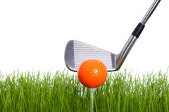 Teeing off Royalty Free Stock Images