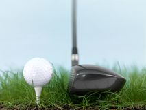 Teeing Off Royalty Free Stock Photo
