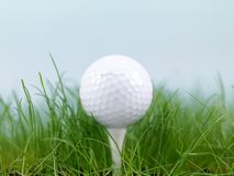 Teeing Off Stock Image