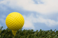 Teeing Off Royalty Free Stock Photography