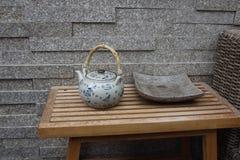 Teekanne der chinesischen Art Stockfotografie