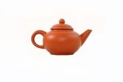 Teekanne lokalisiert auf weißem Hintergrund Lizenzfreies Stockfoto