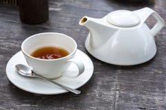 Teekanne und Cup Lizenzfreie Stockbilder