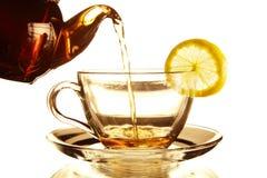 Teekanne und Teacup Stockfotografie