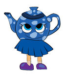Teekannenkarikatur Lizenzfreie Stockbilder