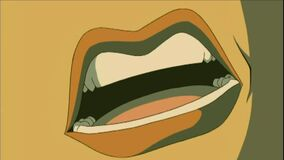 Teela's Mouth 2 Royalty Free Stock Images