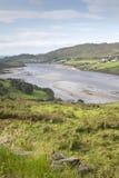 Teelin dichtbij Carrick, Donegal, Ierland Stock Foto
