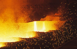 Teeming Steel Stock Photo